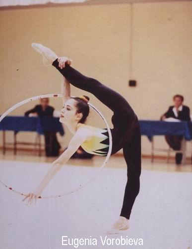Eugenia Vorobieva Rhythmic Sport Gymnastic